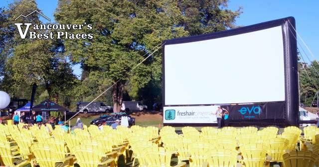 Fresh Air Cinema Movies