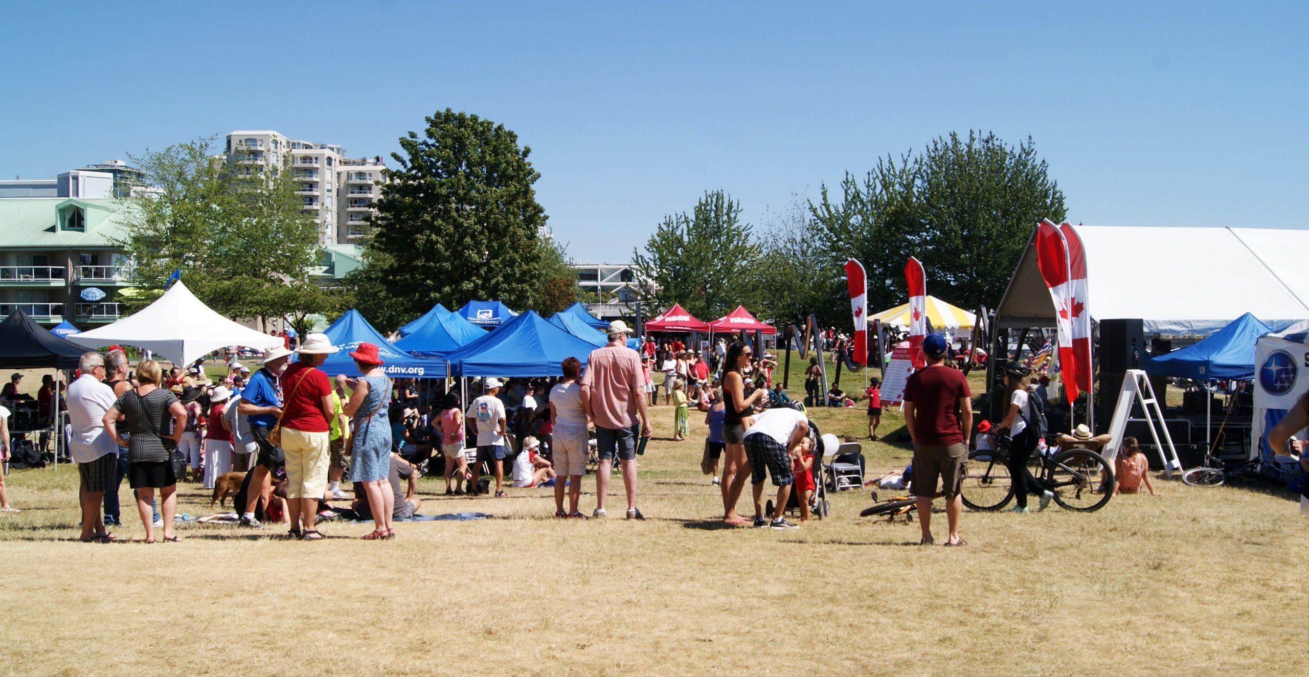 North Vancouver Canada Day 2020