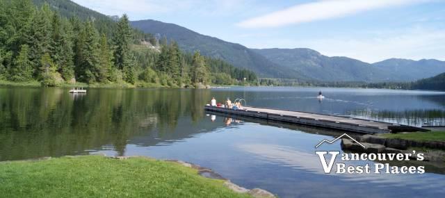Alta Lake in Whistler