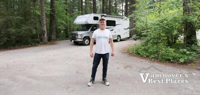 Camping at Nairn Falls Park