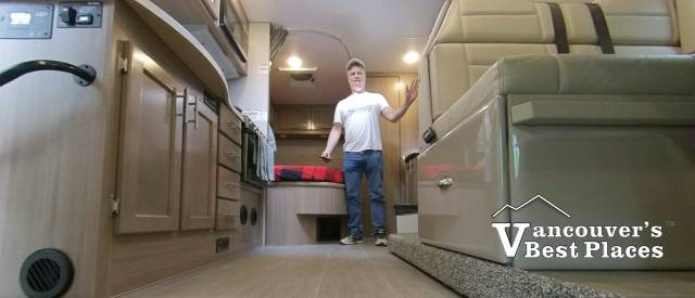Inside a Fraserway RV Motorhome