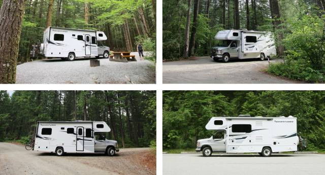 RV Camping at Provincial Parks