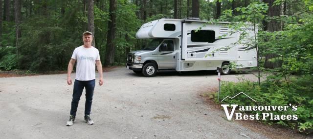RV Camping at Nairn Falls