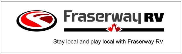 Stay Local. Play Local. Fraserway RV Ad