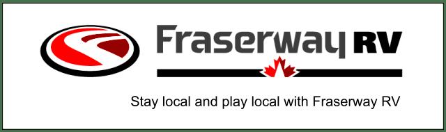Stay Local. Play Local. Fraserway RV Ad