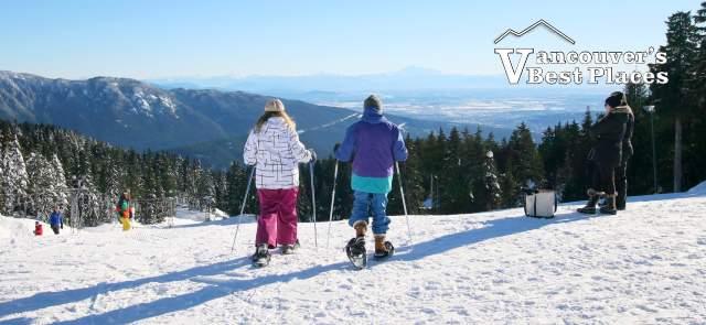 Snowshoeing at Mt. Seymour