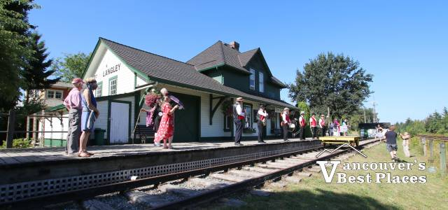 Fort Langley Train Station Museum