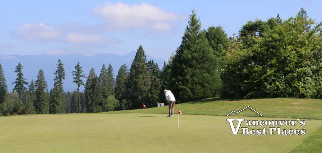 Golfing at Redwoods in Langley
