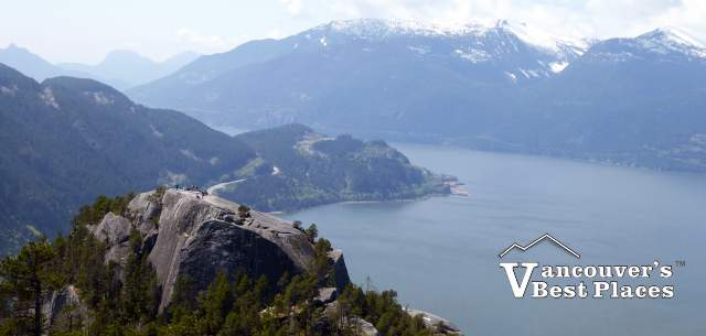 Howe Sound and Stawamus Chief