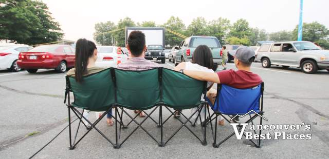 Outdoor Movie Night at Lansdowne Centre