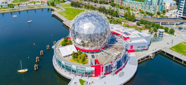 Science World (by On the Mark Drone Services)