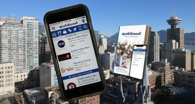 Vancouver Entertainment Coupon Book App