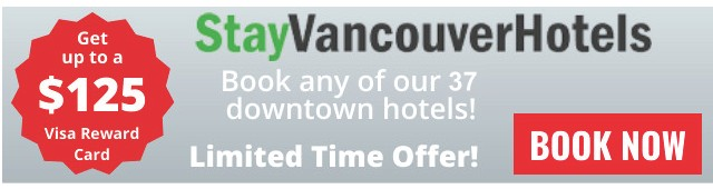 StayVancouverHotels Visa Gift Card Promotion