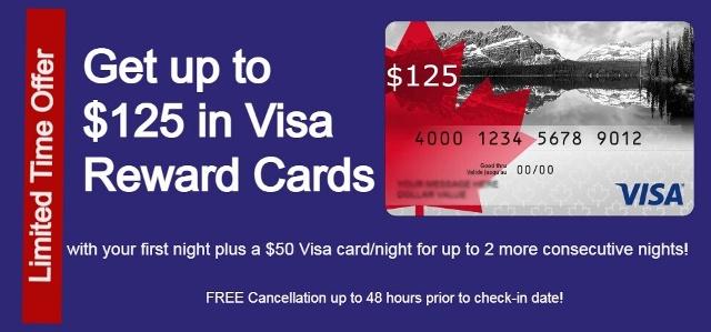 StayVancouverHotels.com Visa Credit Card Promotion