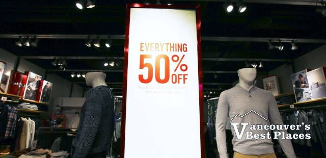 50% Off Shopping Sales
