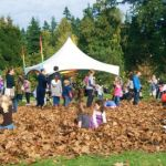 A Leaf Pile at the Apple Festival