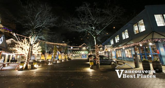Holiday Lights at Granville Island