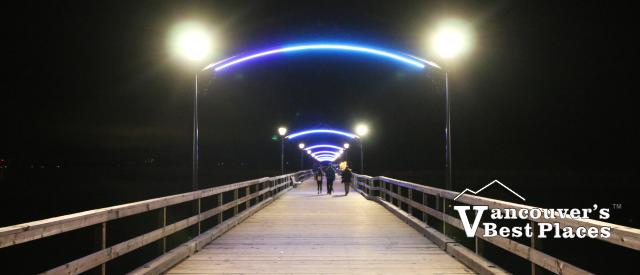 The Pier at White Rock at Night