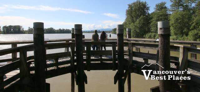 Fraser River at Kanaka Creek Park