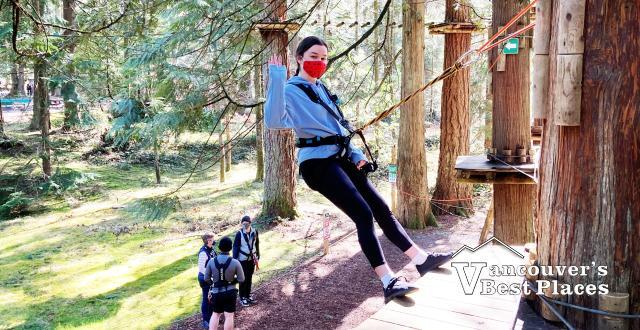 Hanging Around at WildPlay Maple Ridge