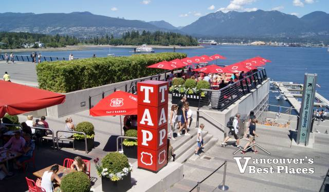 Tap and Barrel in Coal Harbour