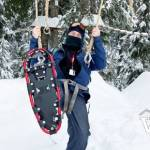 Ropes Course in Winter