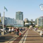 Shipbuilders' Pier in North Vancouver