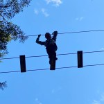 Up High on the Ropes at WildPlay
