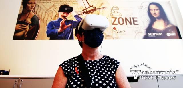 Da Vinci Experience in Virtual Reality