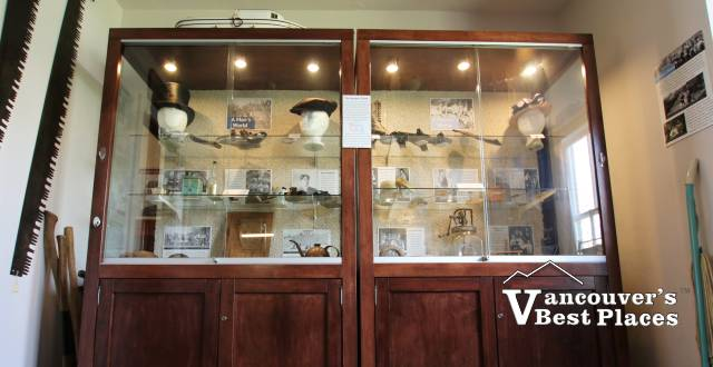 Maple Ridge Museum Display