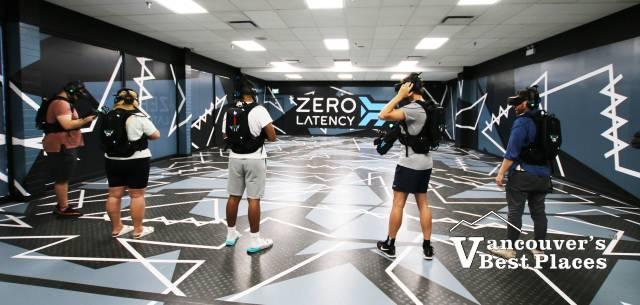 VR Game at Zero Latency