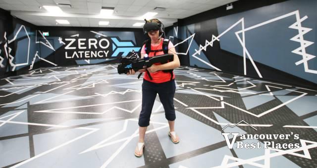 Zero Latency VR Game Player