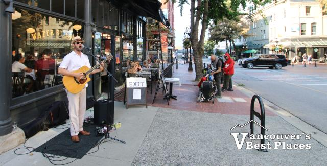 Live Music by Gastown's Water Street Cafe