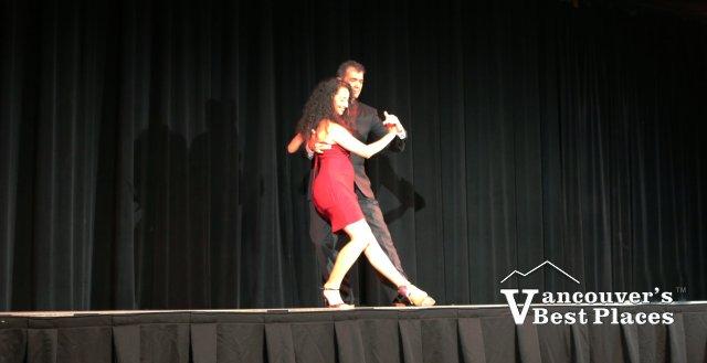 Tango Dancing at Carnaval del Sol