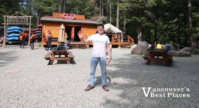 At the TAG Whistler Basecamp