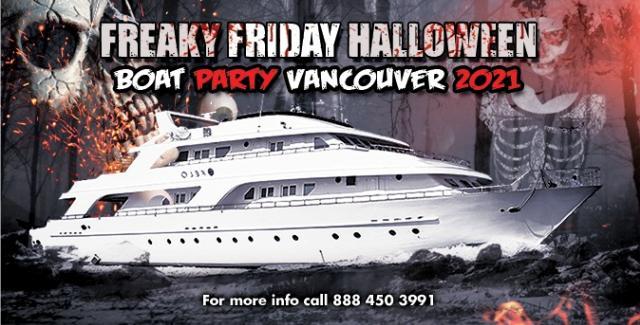2021 Freaky Friday Halloween Boat Party