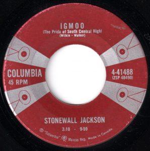 Igmoo by Stonewall Jackson
