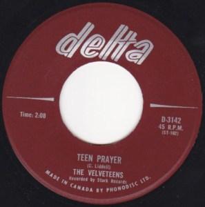 Velveteens - Teen Prayer 45 (Delta)1.JPG