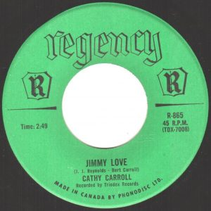 Jimmy Love by Cathy Carroll