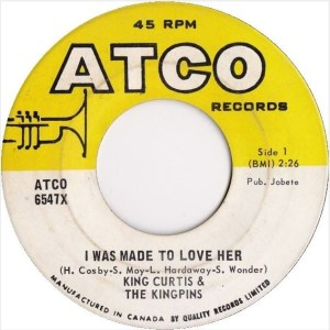 King Curtis - I Was Made To Love Her (Atco Canada)