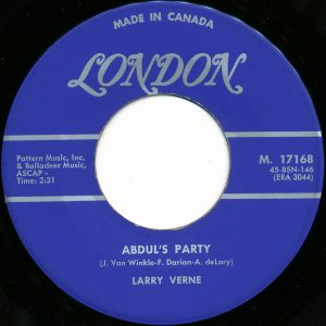 Abdul's Party by Larry Verne