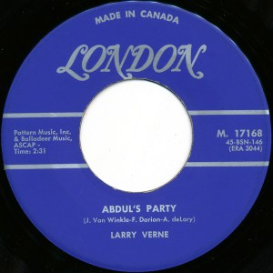 Larry Verne - Abdul's Party 45 (London Canada).jpg