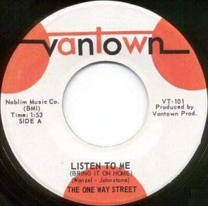 One Way Street - Listen To Me 45 (Vantown).jpg