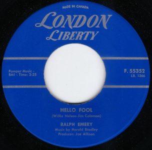 Hello Fool by Ralph Emery