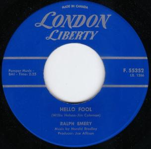 Ralph Emery - Hello Fool (London Liberty Canada).jpg