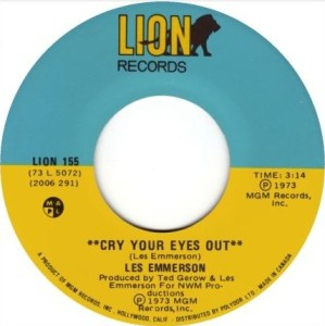 Les Emmerson-Cry Your Eyes Out (Cdn).JPG
