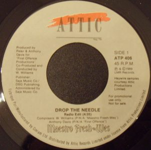 Drop the Needle by Maestro Fresh Wes