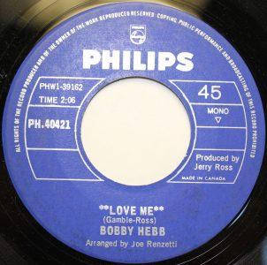 Love Me by Bobby Hebb