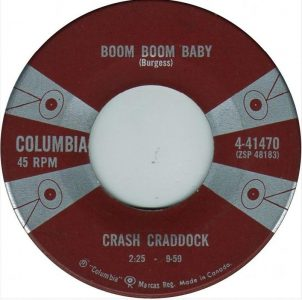 Boom Boom Baby by Crash Craddock