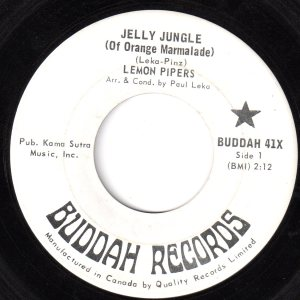 Lemon Pipers - Jelly Jungle 45 (Buddah Canada) (2)